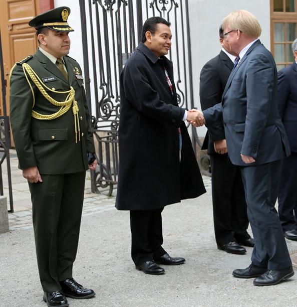 Signifikansi perjanjian kerja sama pertahanan Indonesia-Swedia 2020