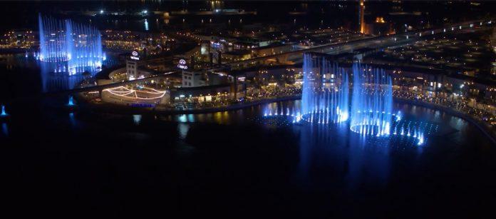 Air mancur terbesar di dunia akan diluncurkan di Dubai