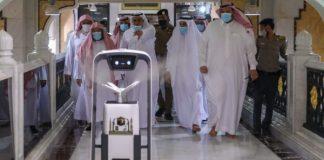 Robot pintar bantu pengendalian virus di Masjidil Haram