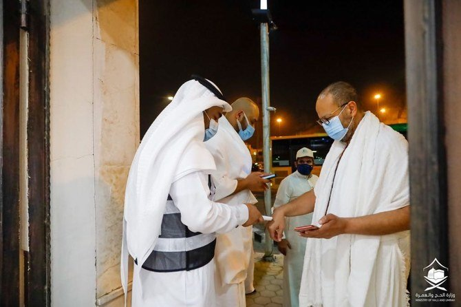 Sterilization in the Grand Mosque maximized to welcome first batch of umrah pilgrims