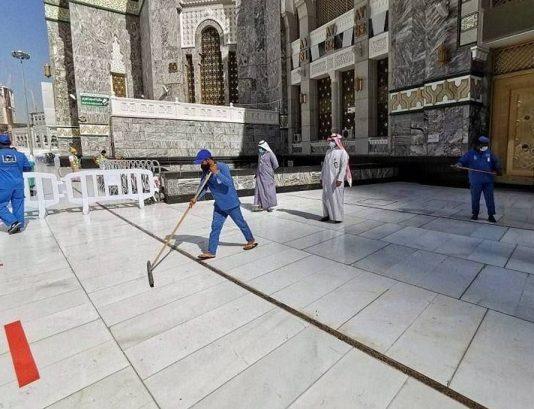 Grand Mosque in Makkah sterilized in 35 minutes