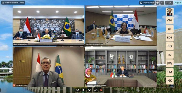 Indonesia-Brazil discuss economic cooperation enhancement in bilateral consultation forum