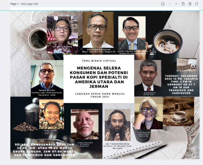 Towards rise of Indonesia's specialty coffee