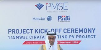UAE inaugurates largest floating solar power plant project in Indonesia's Cirata