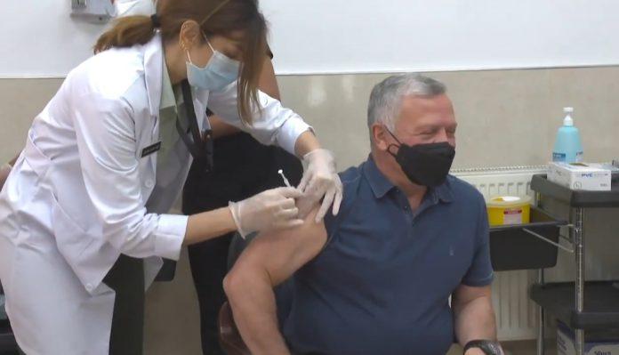 COVID-19 – Raja Yordania terima vaksin dosis pertama