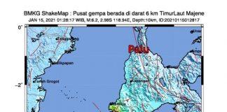 6.2 magnitude earthquake shakes Indonesia's W Sulawesi, kills dozens of people