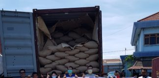 18 tons of Indonesian arabica coffee arrive in San Francisco