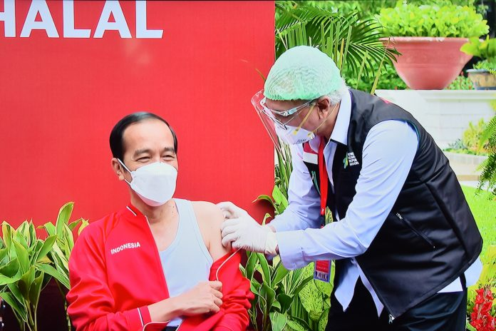 COVID-19 – Indonesian president receives second dose of vaccine
