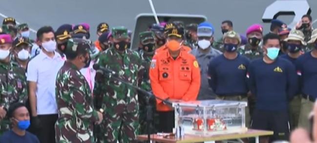 SAR team retrieves Sriwijaya Air's black box