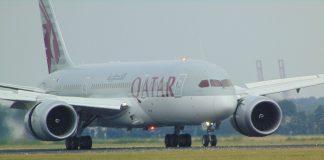 Penerbangan pertama Qatar-Arab Saudi tiba di Riyadh