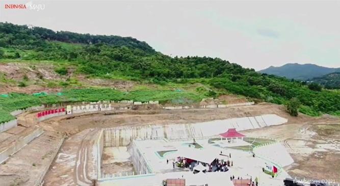 Napun Gete Dam in E Nusa Tenggara inaugurated, holding 11.22 mln cubic meters of waters