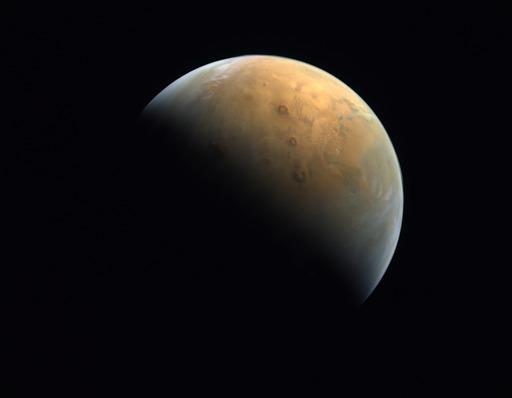 Wahana luar angkasa UEA kirim gambar Mars