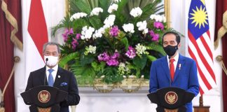 Presiden RI-PM Malaysia dorong ASEAN bahas situasi Myanmar