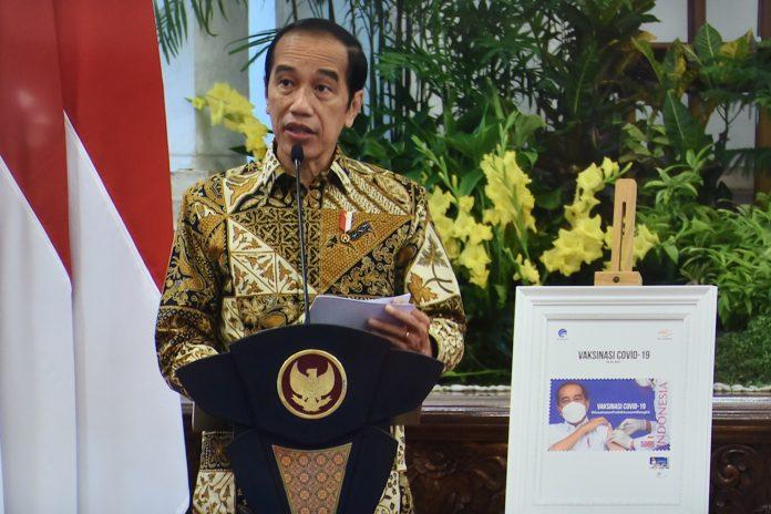 Presiden luncurkan konektivitas digital 2021