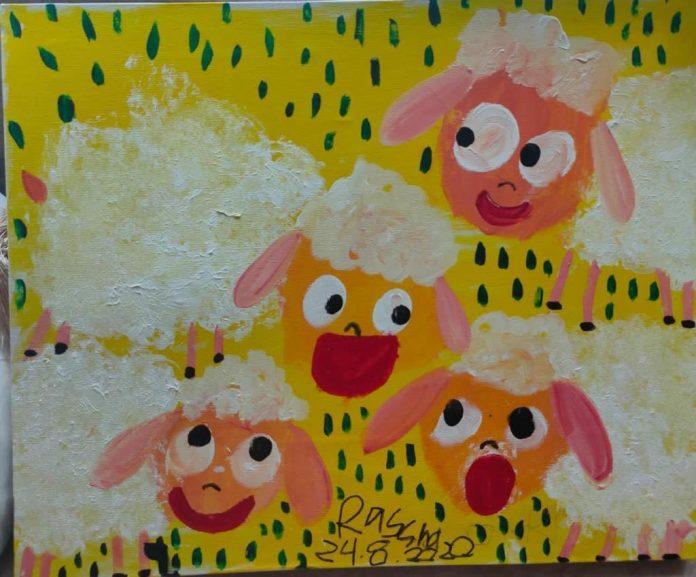 Raysha, gadis autis luncurkan karya seni untuk keluarga prasejahtera
