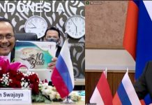 Indonesia, Russia expect 5 bln USD from bilateral trade