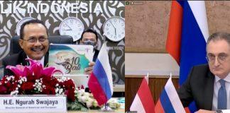 Indonesia-Rusia targetkan perdagangan 5 miliar dolar AS