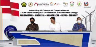 Indonesia gagas kerja sama energi terbarukan dengan empat negara