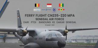 PTDI ekspor CN235-220 ke Senegal