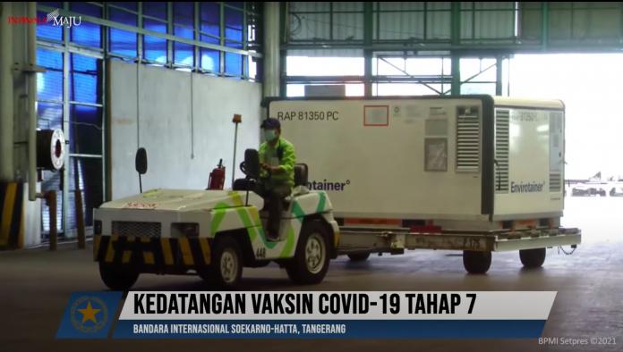 COVID-19 – 16 juta dosis bahan baku vaksin Sinovac tiba di Indonesia