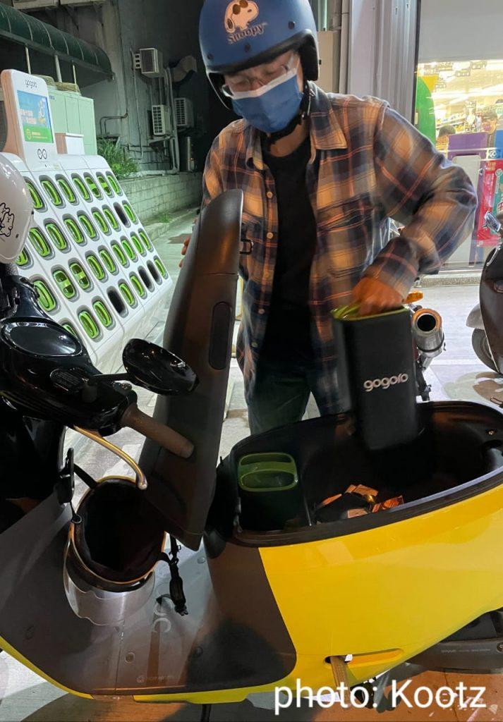 Gogoro Taiwan, skuter cerdas buat nyaman pengendara