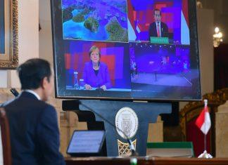 Merkel berharap Hannover Messe tingkatkan ekonomi Jerman-Indonesia