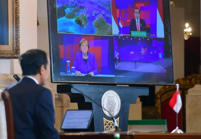 Merkel hopes Hannover Messe to improve Germany, Indonesian economies