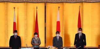 Indonesia, Japan agree to transfer defense equipment, technology