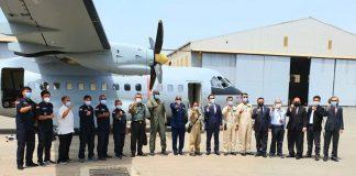 CN235-220 buatan PTDI pesanan AU Senegal tiba di Dakar