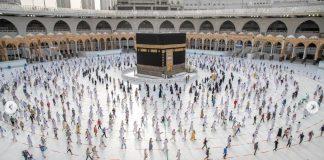 Izin umroh dan kunjungan ke Dua Masjid Suci hanya untuk mereka yang telah divaksinasi