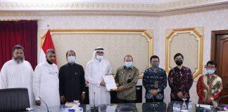 Perusahaan Saudi akan impor beras Indonesia