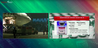 COVID-19 – Indonesia receives 1 mln doses of vaccines from Sinopharm