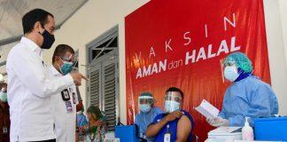 COVID-19 – Vaksinasi di Indonesia tembus 1,3 juta dosis per hari