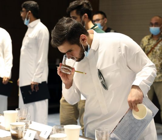 Indonesian coffee beans compete in Saudi Arabia