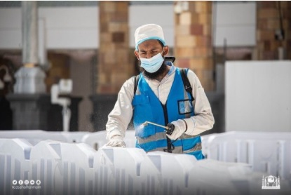 Haji1442 – 5.000 petugas sterilkan Masjidil Haram sepuluh kali sehari