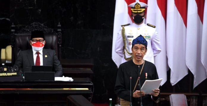 Pemerintah anggarkan 2.708,7 triliun rupiah dalam RAPBN 2022