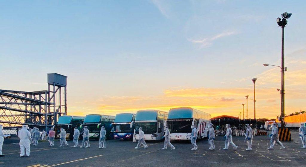 Taiwan bantu 105 ABK WNI terdampar pulang ke Indonesia