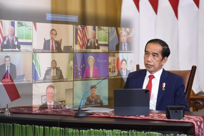 COVID-19 – Indonesia promote world's health resilience system at summit