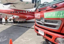Indonesia's bio-jet fuel J2.4 developed at two national oil refineries
