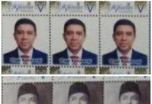 Stamps with picture of Indonesian ambassador to Ukraine launched in Kyiv