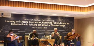 Indonesia, Netherlands, Pacific develop cooperation on climate change