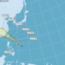 白廘颱風 預計23日清晨發佈海上颱風警報!