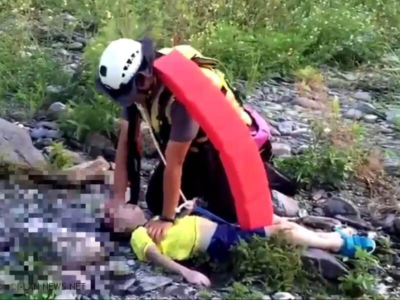 民眾武荖坑風景區上游戲水 五歲男童不幸溺水!
