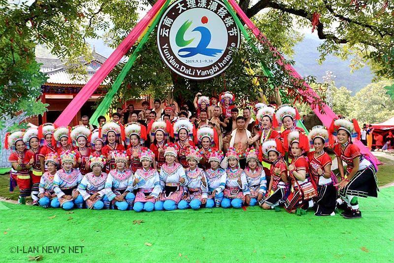 宜蘭瑪嘎巴嗨到雲南大理為核桃季祈福 民眾給予熱烈的掌聲!