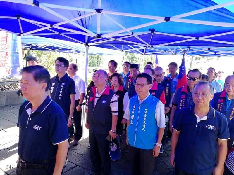九三軍人節國民黨全國同步向軍人致敬
