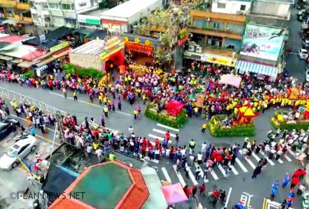 2019北台灣媽祖文化節 宜警成為民眾第二層保護神!