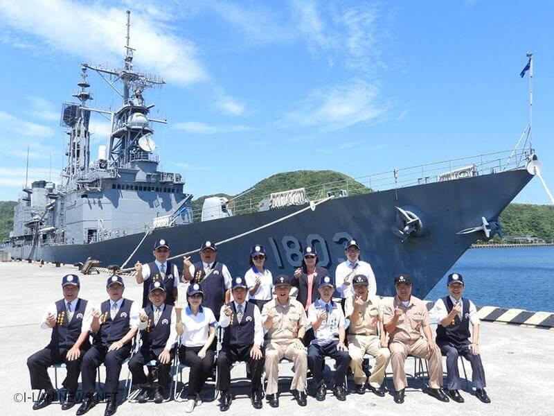 感謝海軍健兒平日堅守工作崗位,投入戰訓工作的辛勞