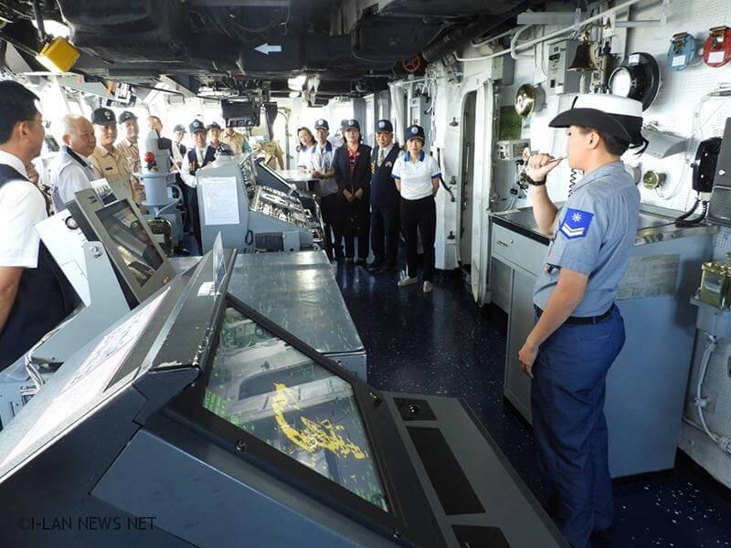艦隊也特別安排了左營軍艦的參訪活動