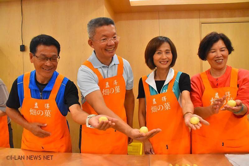 希望藉活動帶動鄉內烘焙業,讓鄉民能夠提早感受中秋節的氣氛。