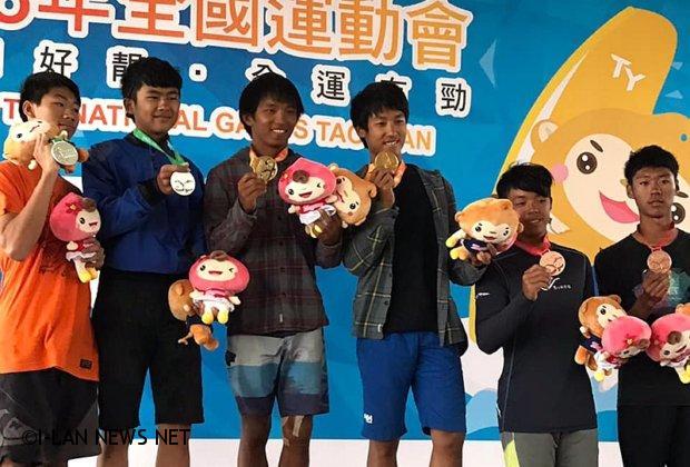 捷報!全運會宜蘭縣代表隊帆船比賽7金5銀3銅!